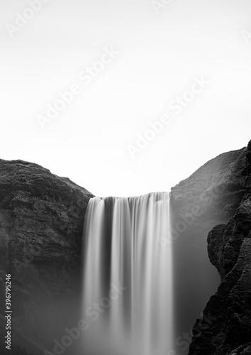 Skogafoss waterfall, Southern Iceland, Iceland, Europe