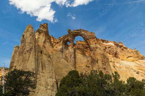 Obraz na plátne Grosvenor Arch at Grand Staircase-Escalante National Monument, Utah, USA