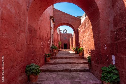 Peru, in the city  of  Arequipa, Santa Catalina Monastery