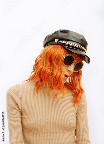 Fotografie, Obraz Paris Lady in fashion elegant outfit