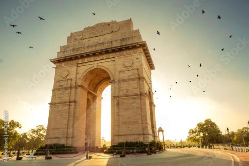 Canvas Print India Gate, New Delhi, India