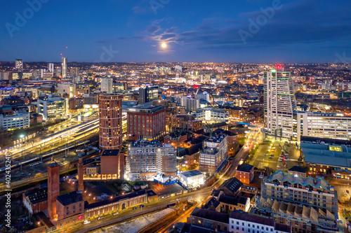 Fényképezés Bridgewater Place and Leeds City Centre
