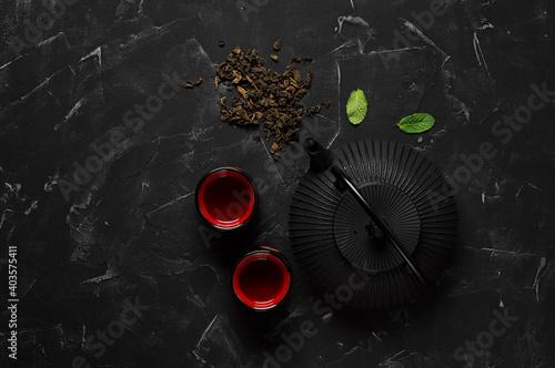Slika na platnu Traditional Asian tea ceremony