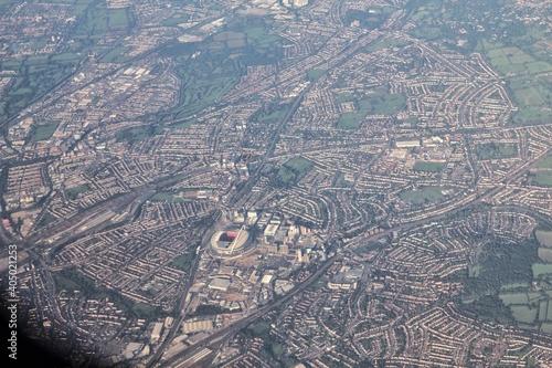 High Angle View Of Cityscape фототапет
