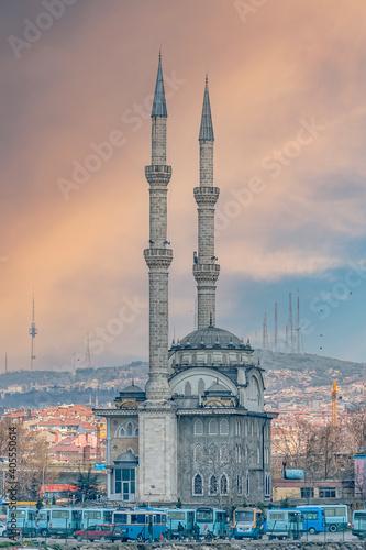 Canvas Print Istanbul Haydarpasa Mosque