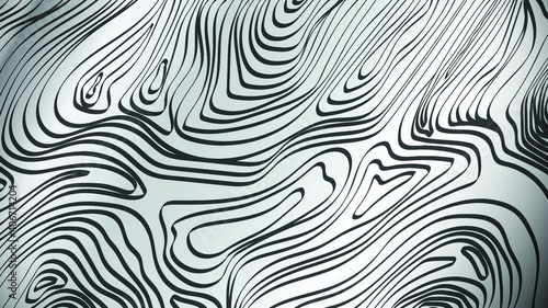 Tela Damascus abstract Flat Vector Background