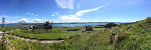 Isle of Iona (off Isle of Mull) in Scotland Fototapeta