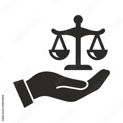 Obraz na płótnie Legal action