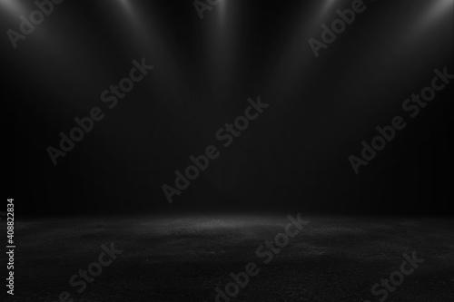 Fotografia Product showcase with spotlight
