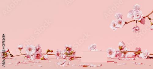 Fotografie, Obraz Minimal mockup background for product presentation