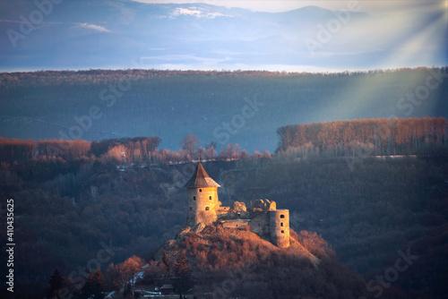 Fotografia, Obraz Somosko castle in border of Hungary and  Slovakia