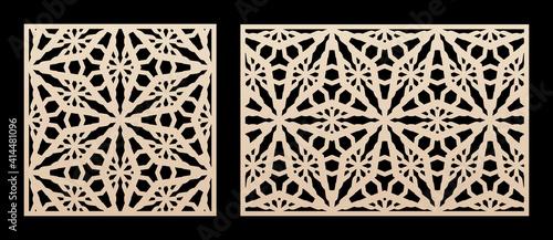 Fotografía Laser cut pattern