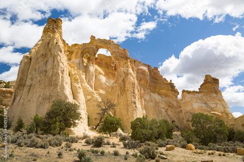 Fotografia, Obraz Grosvenor Arch, Grand Staircase-Escalante National Monument Utah