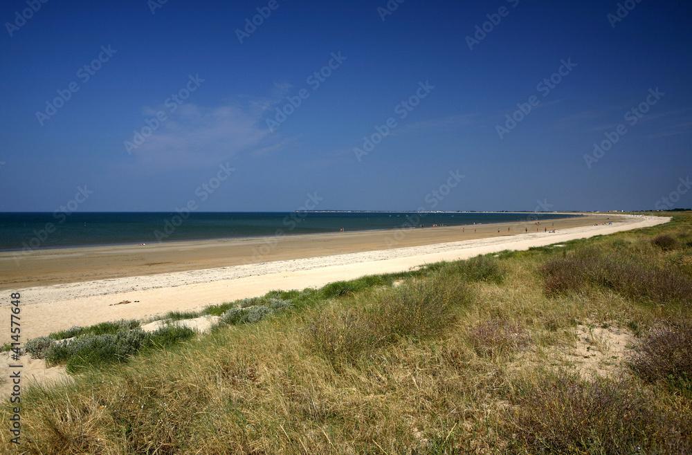 Beach Atlantic Coast Noirmoutierenl Amp 39 Ile De Noirmoutier Pays De La Loire France Europe