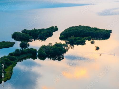 Derwent Water Sun Set Fototapet