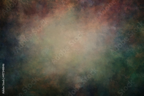 Fotografia, Obraz Fine art texture. Old abstract oil painted background.