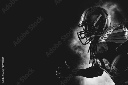 Photo American football player