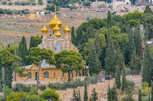 Fotografia, Obraz Mary Magdalene Church, Jerusalem