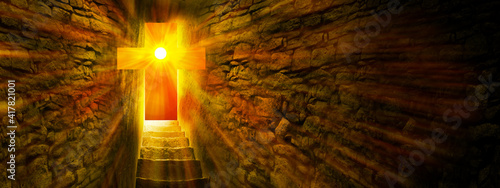 Fotografie, Tablou Jesus Christ is Risen