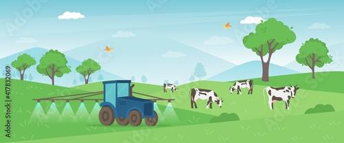 Photographie Agriculture farm banner