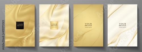 Fotografering Modern cover design set
