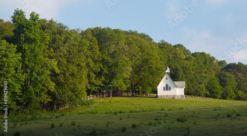 Fényképezés The Chapel, Saultopauls Stables, Chickamauga, Georgia .