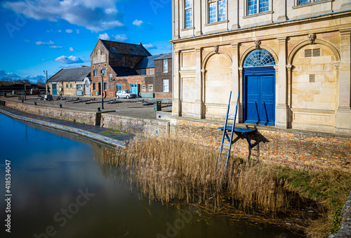 Fotografiet A view of King's Lynn, a seaport and market town in Norfolk, England