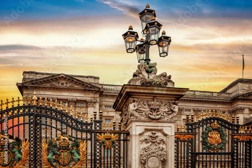 Photo The Buckingham Palace gate
