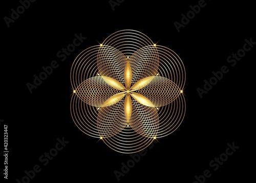 Tela Seed of life symbol Sacred Geometry