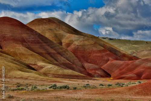 Canvas Print USA, Oregon, John Day Fossil Beds National Monument
