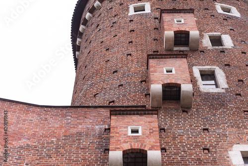 Medieval toilets in the castle Fototapet