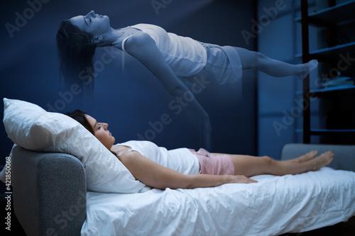 Fotografering Woman Ghost Or Spirit Nightmare