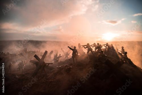 Foto World War 2 reenactment (D-day)