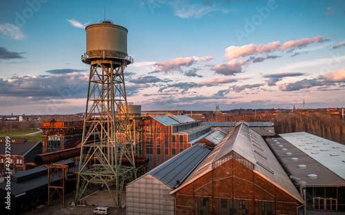 Tela Bochum - Stahlwerk - Jahrhunderthalle - Wasserturm