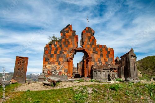 Fotografie, Obraz Medieval Armenian Christian Apostolic church of Amenaprkich (All Savior) at the