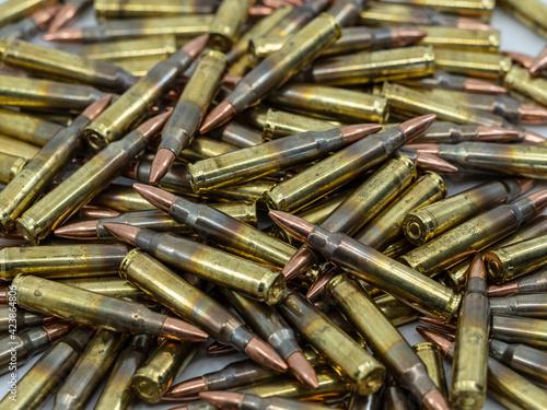 Fototapeta Bulk 556 Reloaded Ammunition for Rifles