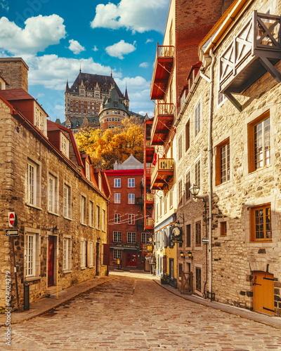 Fototapeta premium Quartier du Petit Champlain