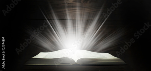 Photo Open Bible