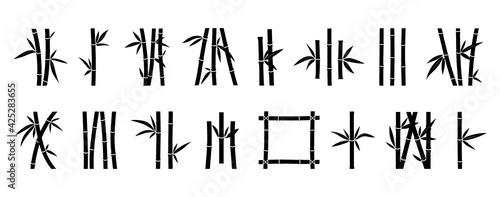 Canvas Print Bamboo icon