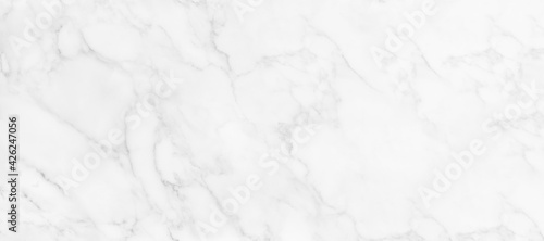 Stampa su Tela White marble texture for background or tiles floor decorative design