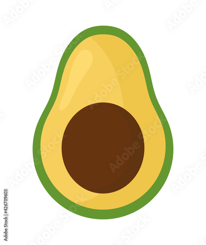Fotografía slice of avocado