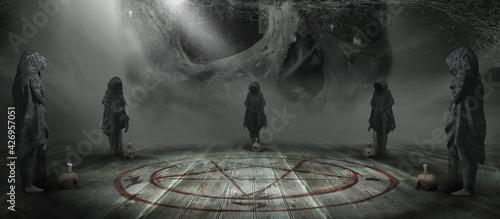 Fotografie, Tablou Dark Ritual
