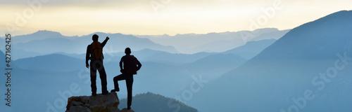 Slika na platnu Enjoying the Magnificent View