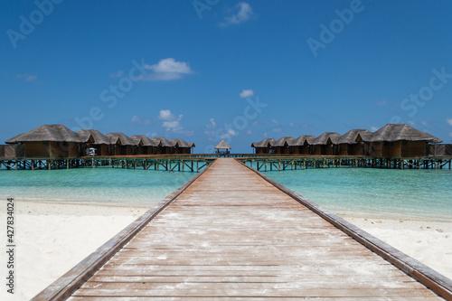 Fototapeta Fihalhohi Island Resort