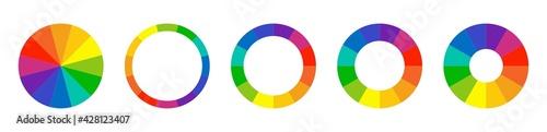 Fotografie, Tablou Color wheel guide