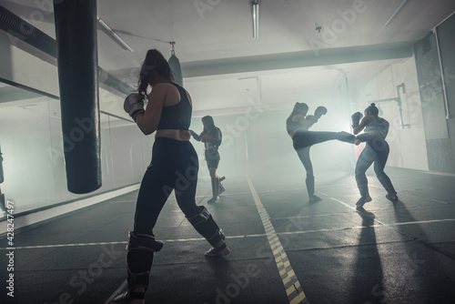 Fotografía Boxer woman