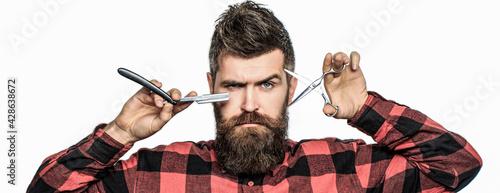 Photographie Bearded man, bearded male
