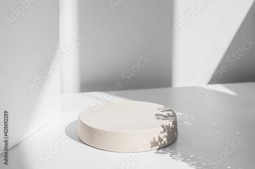 Carta da parati Abstract minimal scene with geometrical form