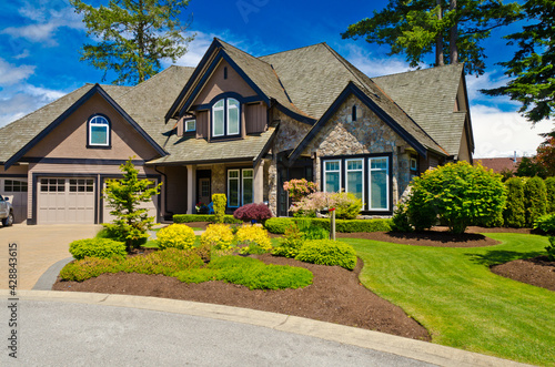 Fotografia, Obraz Luxury house in Vancouver, Canada.