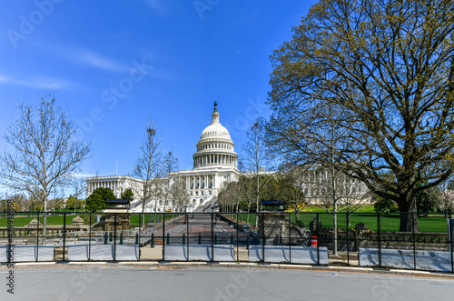 Obraz na płótnie US Capitol Building - Washington DC